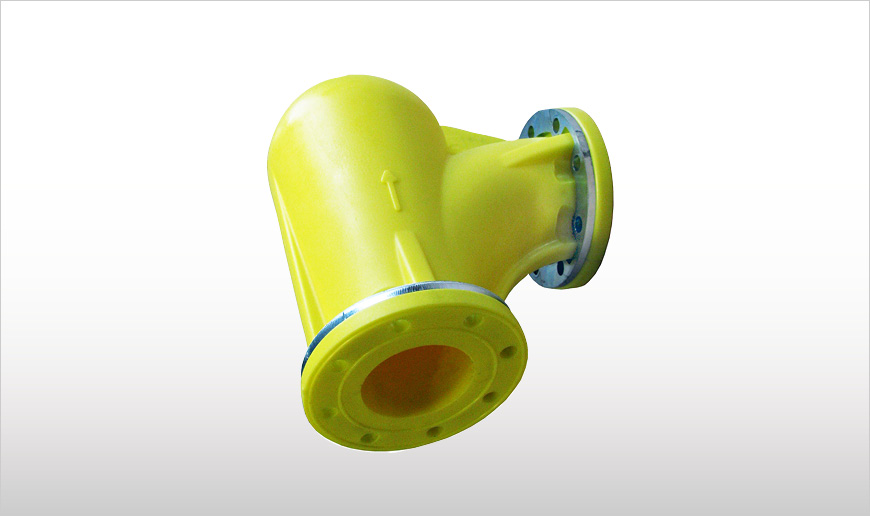 Abrasion Resistant Pipe Elbows