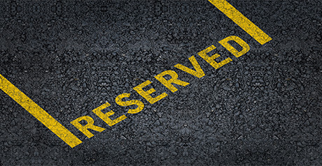 Reserved Area service on the website
