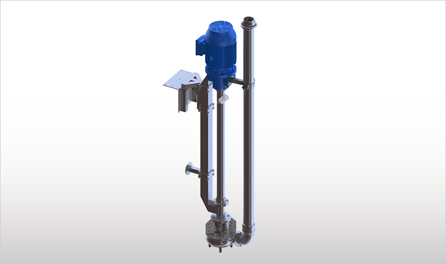 Vertical Long-Shaft Chopper Pumps with Electric Motor